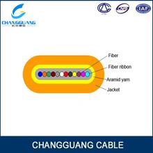 High Quality Ribbon Optical Fibre Jumper and Pigtail Flat Fiber Ribbon Cable
