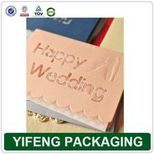 2014 China Wholesale Manufacturer Customized Wedding / Party Invitation Card Greeting