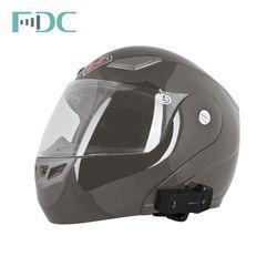 COLO 1000 Metros Casco Con Intercomunicador Helmet Bike to Bike Intercom