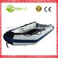 ( ce) rígida de pvc inflável barco de alumínio