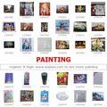 Diodo emissor de luz de fotos: uma parada de abastecimento da china: mercado de yiwu para artesanato& pintura