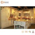 Estilo clássico armário de cozinha com granito Center island, Ready made armários de cozinha