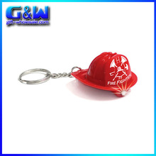Promotional Gifts Bright Fireman Hat LED Light Keychain