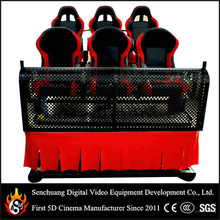 Hydraulic/Electric 6dof Motion Platform 6d Cinema