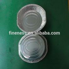 Moderna venda quente de alumínio recipiente da folha platters