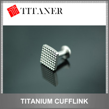 best titanium personalised wedding cufflinks