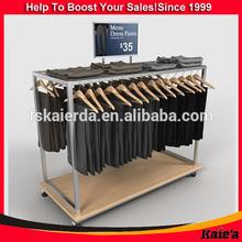 retail display racks clothes mens pants/mens linen clothes for mens clothes 2014