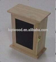 front blackboard decorative antique wooden key box