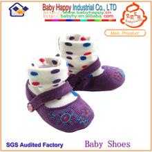 cotton baby socks like shoe for baby