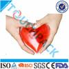 PVC/PE/PU/NYLON Heart shaped gel hot pack