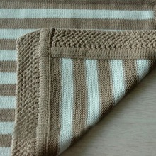 2014 Fashion Chinese Manufacturers Cotton Woven Baby Blanket