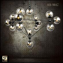 FLOSE MD-9047 Contemporary fashion design Jason Miller MODO glass chandelier, glass chandelier,modern glass ball pendant.