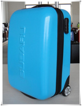 abs/pc trolley luggage/lightweight carry on luggage