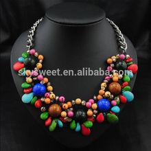 2014 fashion beads necklace decoration necklace