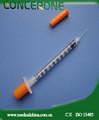 Seringa de insulina 29 30 gauge gauge 31 calibre da agulha/seringa de insulina 0.5ml 1ml