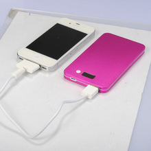 Utra-thin Li-polymer High quality power bank PB015,Solar mobile recharger