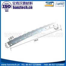 Baoji Hanz W-Ni-Fe tungsten alloy used CT machine parts