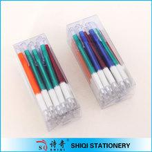 office stationery PVC box set cheap plastic ball pen