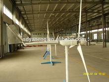 small mini low speed wind power turbine generator 12v, 24v, 48v dc