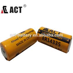 3.6V lithium battery Tadiran TL-2155 2/3aa size battery