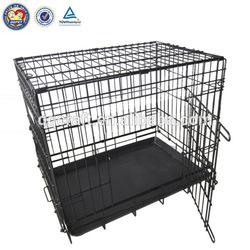 folding metal dog fence & dog kennel fence panel & kennels for dogs