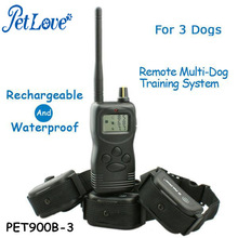 Water-repellent Intensity Adjustable Dog Training Device with 99LV Vibration and Stimulation