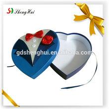 dongguan custom wedding candy boxes heart shape