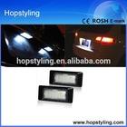 E-Mark Auto car LED license lamp for Audi Q5 A3 A4 A6 Q7,E-approval Golf 7 car led license plate light ,led license plate light