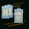 Pequenas caixas de plástico transparente com tampas/caixa transparente/favor caixa