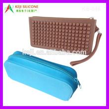 Pencil Bag School Stationery Bag/Silicone Zip Bag