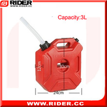 3L 2 Ton hdpe plastic jerry can