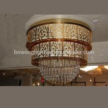 โคมไฟระย้าโรงแรมหรู, คริสตัลโคมไฟโคมระย้าสำหรับโรงแรม