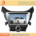 8 pollici hd touch screen 2012 hyundai elantra auto audio con tv/rubrica bluetooth