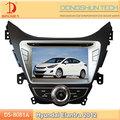 8 pollici hd touch screen 2012 hyundai elantra auto audio con tv/rubrica bluetooth
