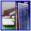 130W Polycrystalline silicon panels solar china direct with Brown Frame Size 1480*808*40mm