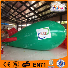 2015 ali express inflatable giant airplane for advertising