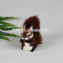 New 2014 fashion Wholesaler Manufacturer mini squirrel figurine