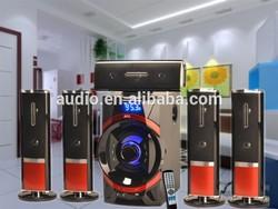 Big Russia market 5.1 active bluetooth speaker subwoofer
