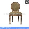 De alta calidad al por mayor de antigüedades de leopardo silla de comedor rq20391c-20