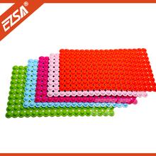 anti skidding bath mat EZS pvc bath mat