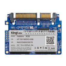 KingFast 22pin SLC/MLC Industrial halfslim SSD 8GB for IPC