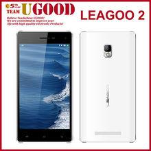 "5.0"" Leagoo Lead 2 Android 4.4 3G Smartphone MTK6582 Quad Core Dual Camera GPS Bluetooth WIFI Smart Mobile Phone"