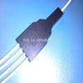 1 en 4 ahueca hacia fuera el cable de fibra óptica divisor made in China
