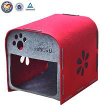 QQFactory padded pet house & cheap handmade pet house