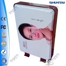 popular acrylic outdoor modern led vacuum form light box