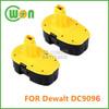 18V 3Ah Replacement Battery for Dewalt DC9096 DE9096 DW9096 DE9039 DE9095 DW9095 DE9098 DW9098 DE9503