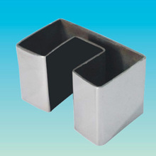 AISI 201 Rectangular Slopt pipes Stainless Steel double Slot Tubes/pipes