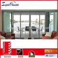 agga padrão austrália as2047 as2208 as1288 tamanho padrão de alumínio portas e janelas