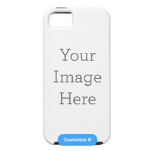 Black & white Material phone shell For iPhone 5C case