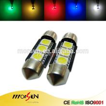 led boot light 3 smd car 12v festoon auto led lights